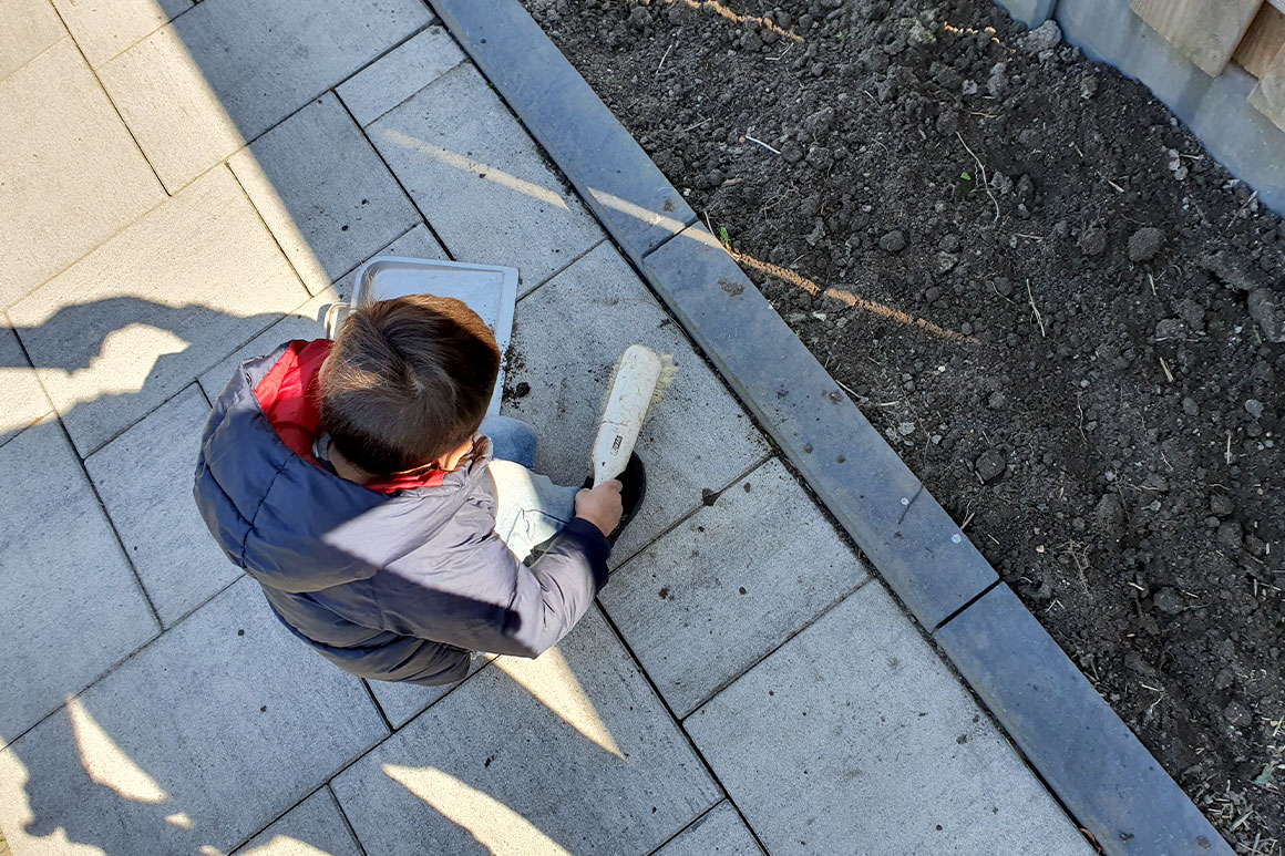 Dagboek: De tuin in