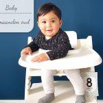 Baby update #10: 8 maanden oud