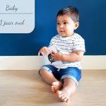 Baby update #12: 1 jaar oud