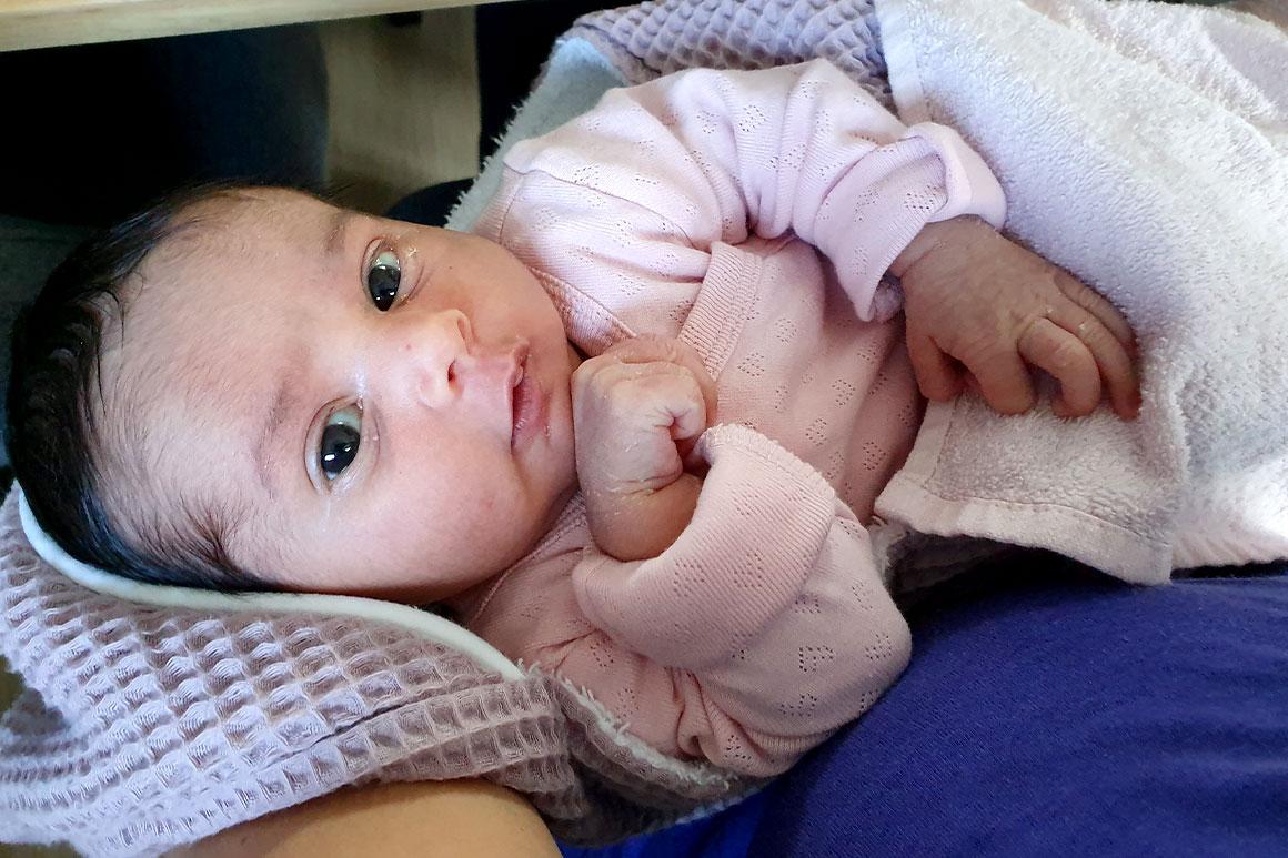 Baby update #14: De kraamweek