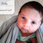 Baby update #16: Een maand oud