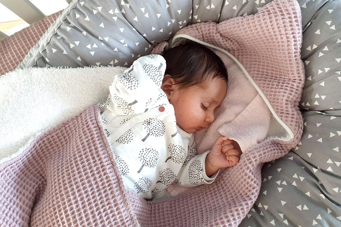 Baby update #18: Twee maanden oud
