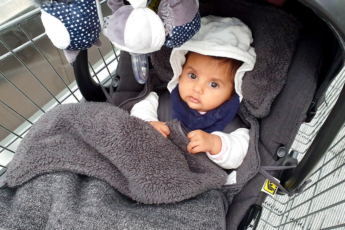 Baby update #20: Vier maanden oud