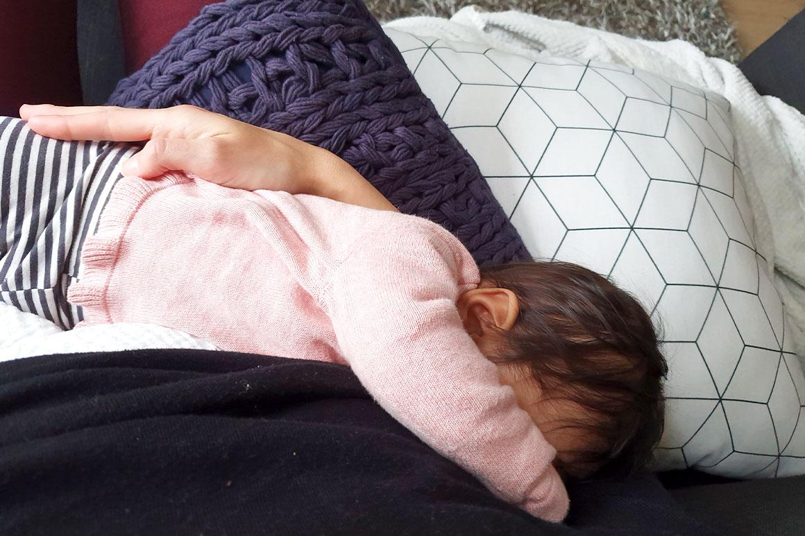 Baby update #21: Zes maanden oud