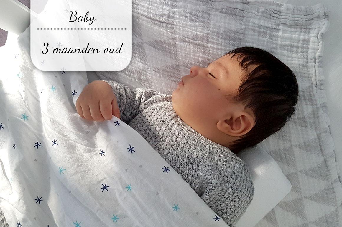Baby update #6: drie maanden oud