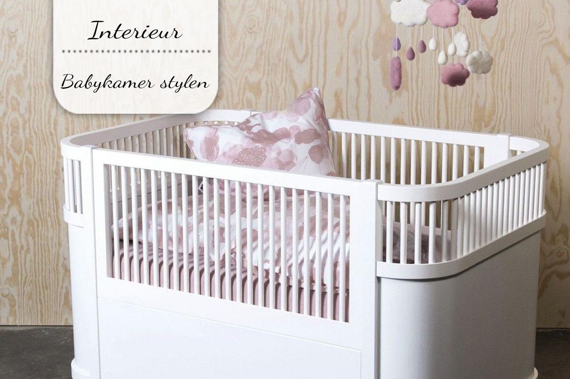 Babykamer Ideeen Muur : Babykamer stylen tien leuke ideeën my simply special