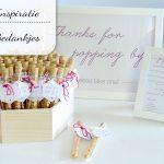 Bedankjes voor een bruiloft (en andere feesten)