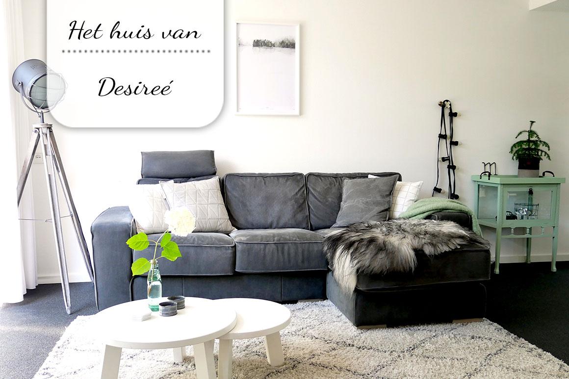 Binnenkijken bij Desireé