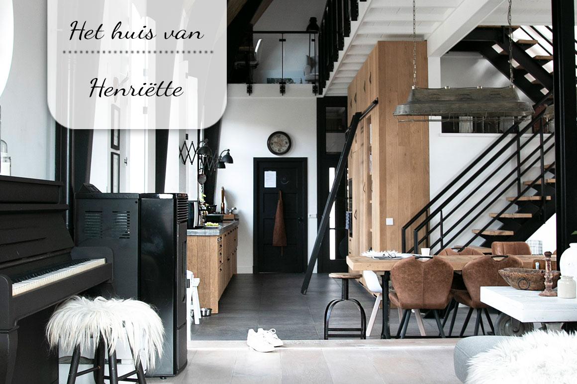 Binnenkijken bij Henriette