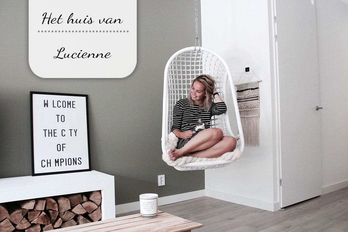 Binnenkijken bij Lucienne