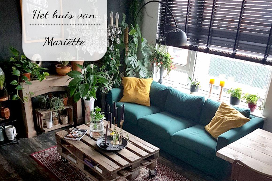 Binnenkijken bij Mariette