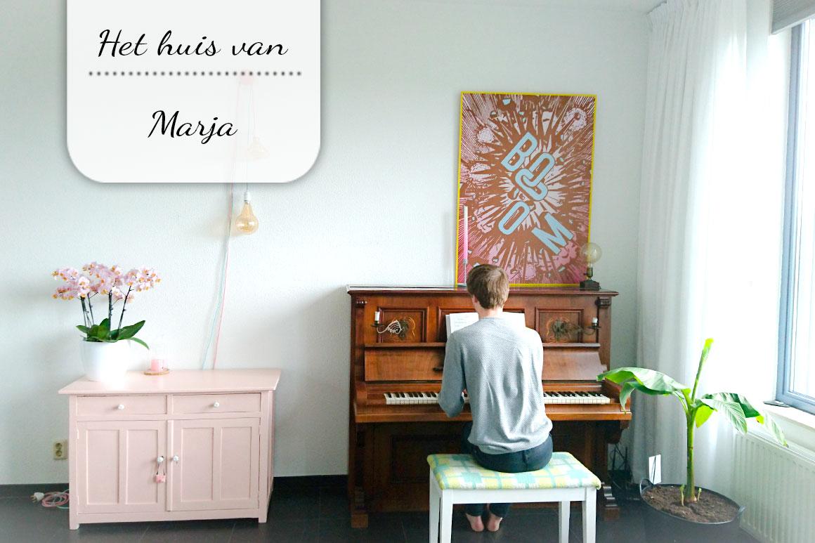 Binnenkijken bij Marja