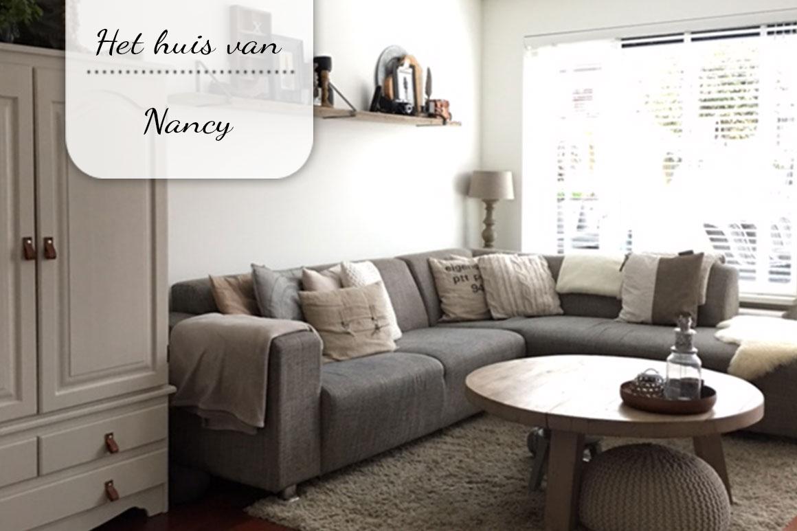 Binnenkijken bij Nancy