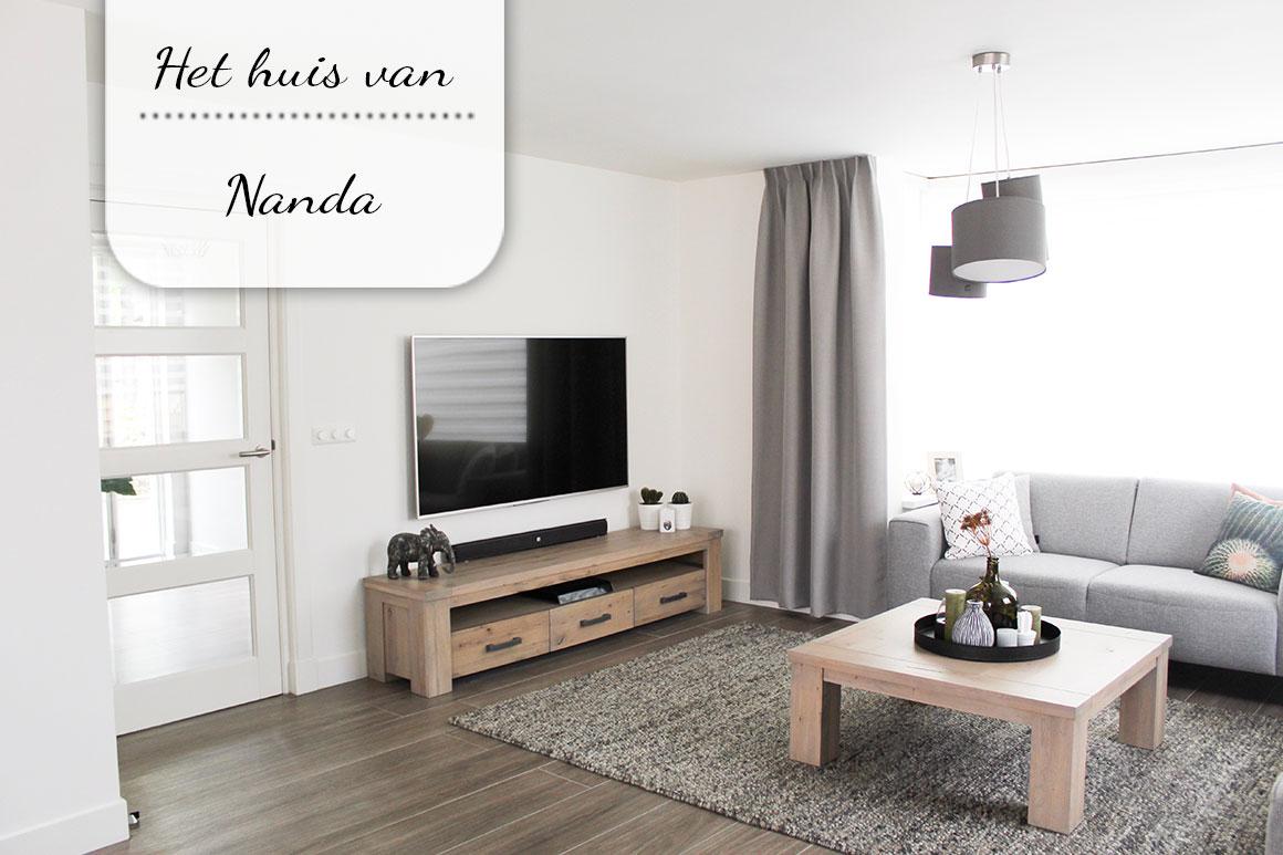 Binnenkijken bij Nanda