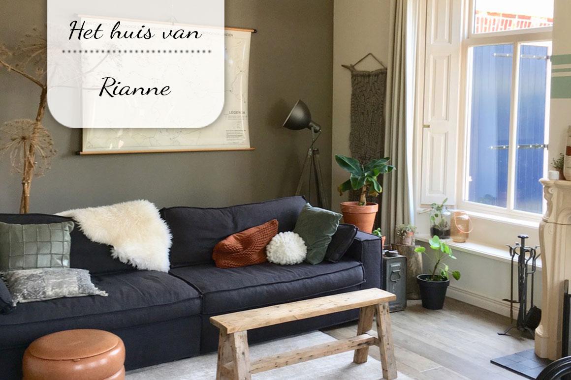 Binnenkijken bij Rianne