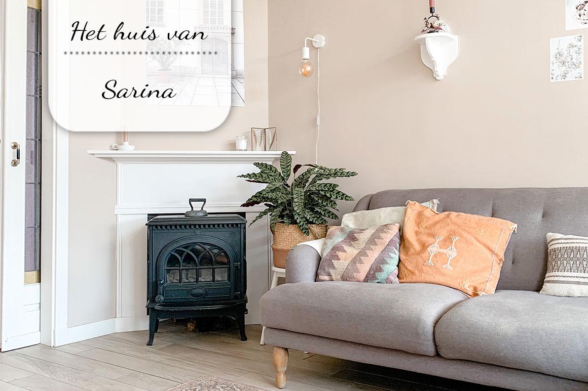 Binnenkijken bij Sarina