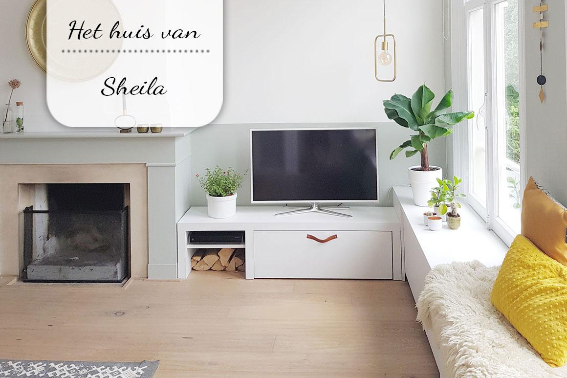 Binnenkijken bij Sheila