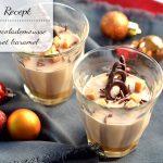 Chocolademousse met karamel