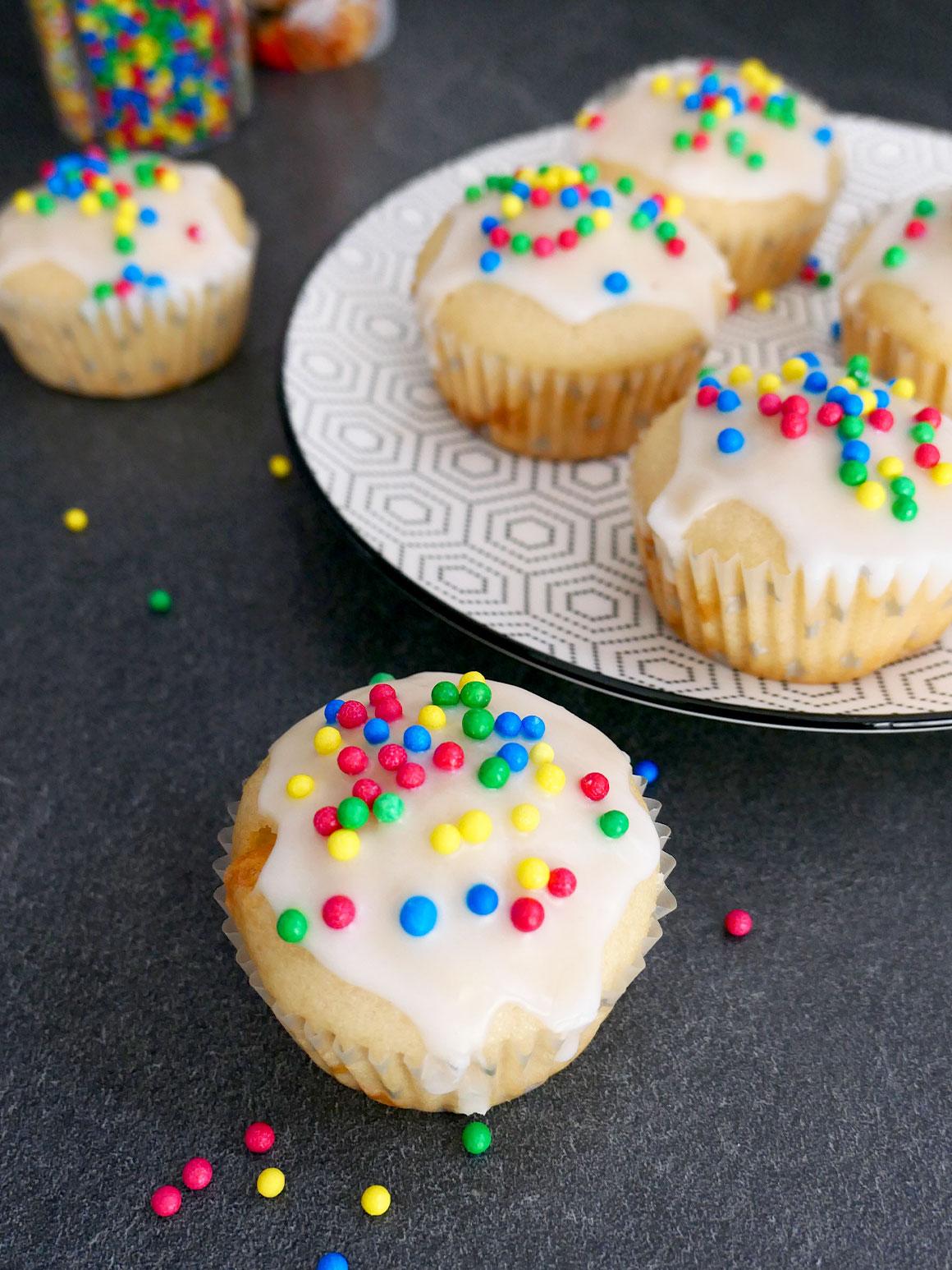 Cupcakes bakken met Liam (vegan)
