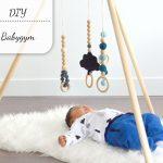 DIY: Babygym tipi