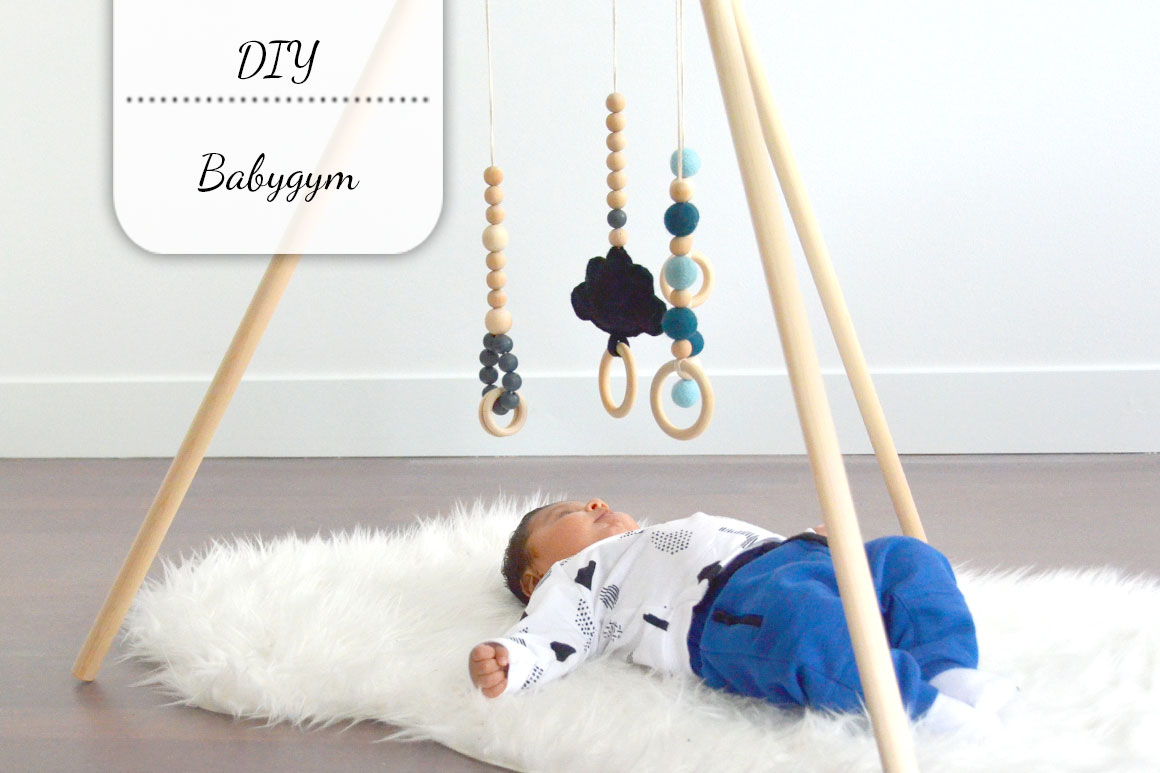 Vaak DIY: Babygym tipi - My Simply Special #DX77