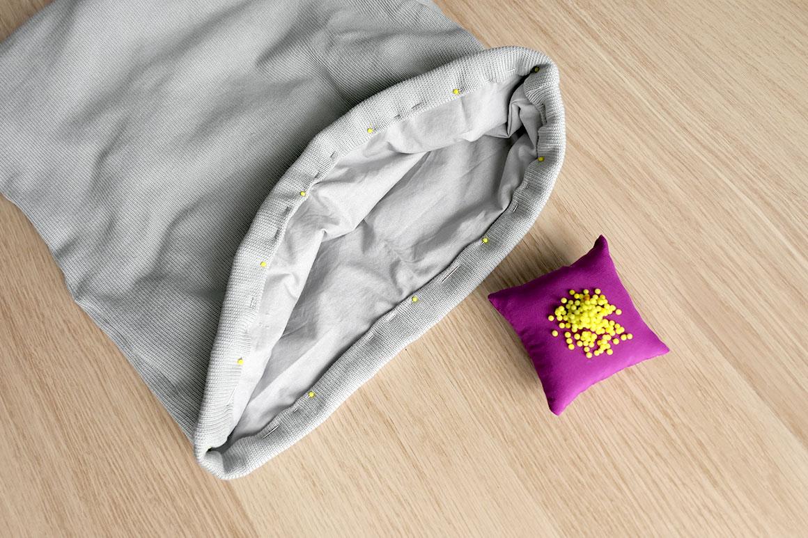 DIY: Boxzak voor babyspullen