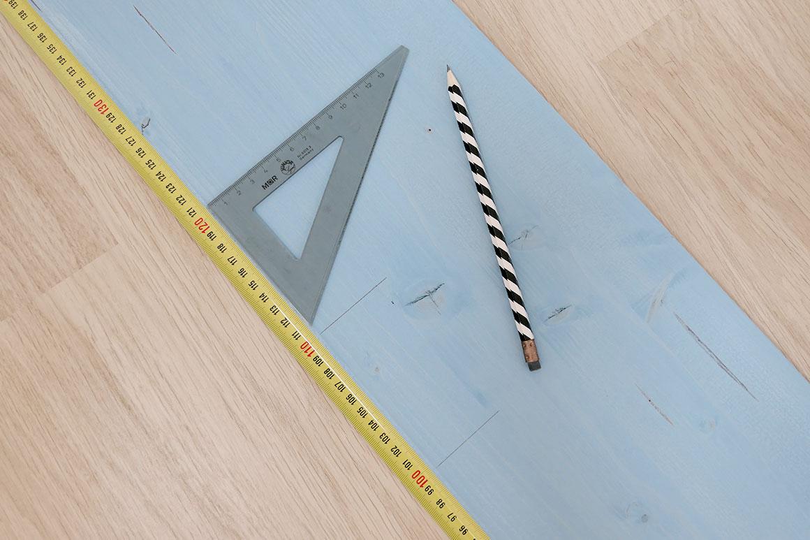 DIY: Groeimeter van hout