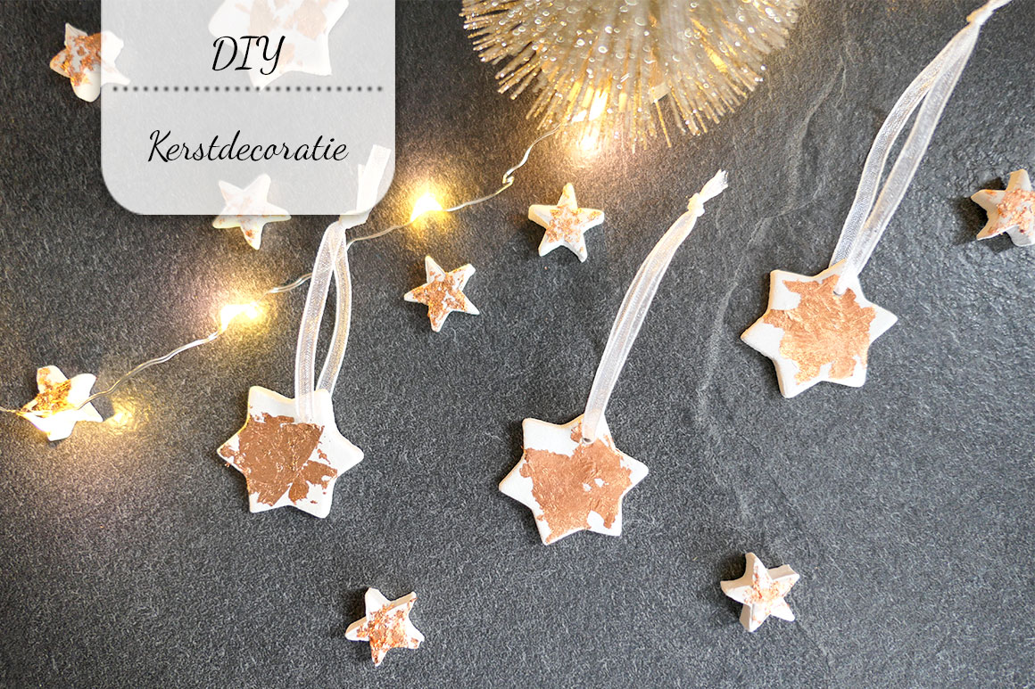 DIY: Kerstdecoratie van klei