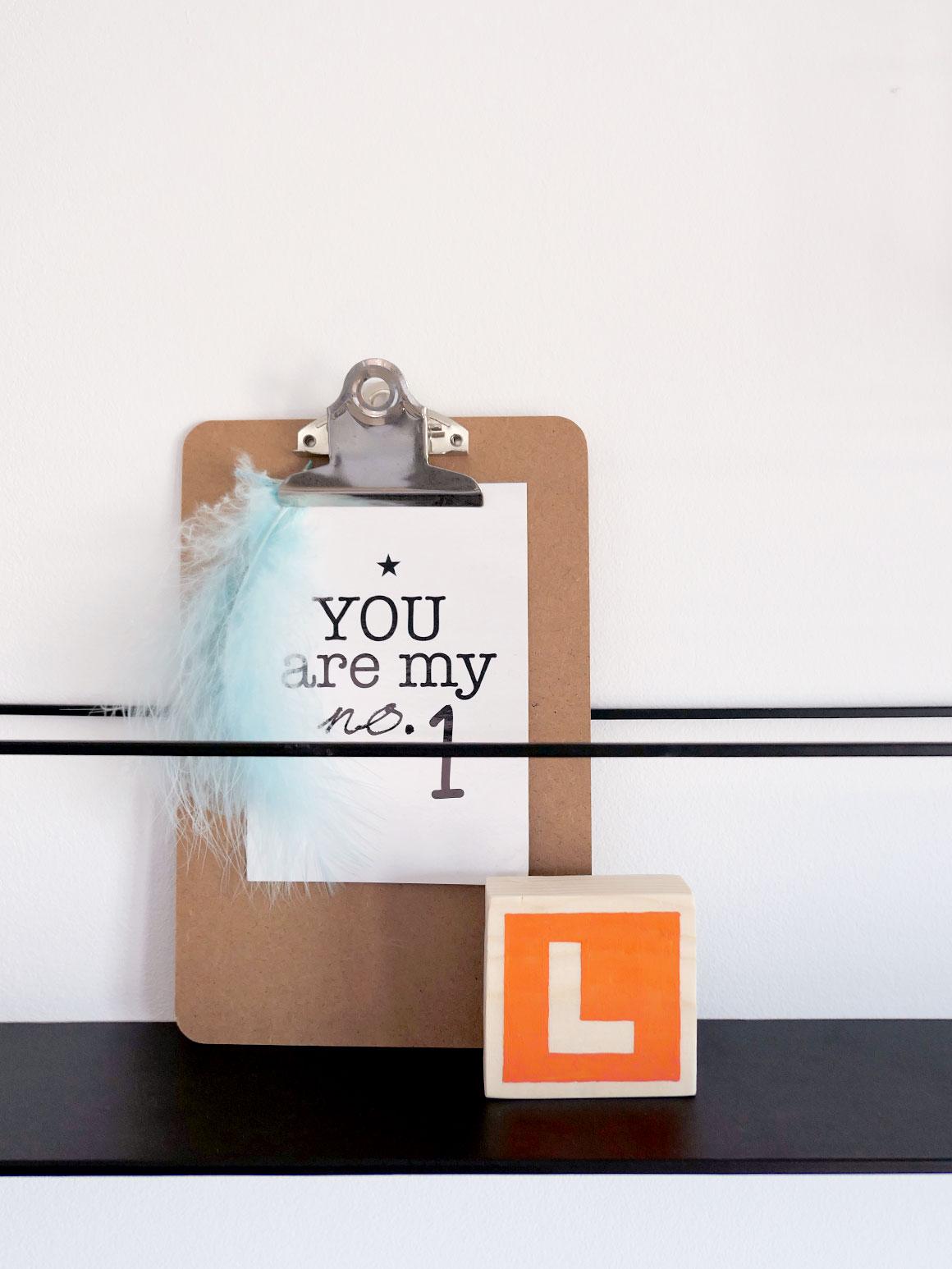 DIY: Letterblokje