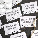DIY: Oud & Nieuw gespreksstarters (gratis printable)