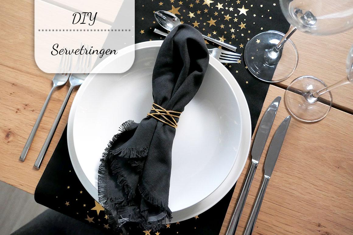 DIY: Servetringen