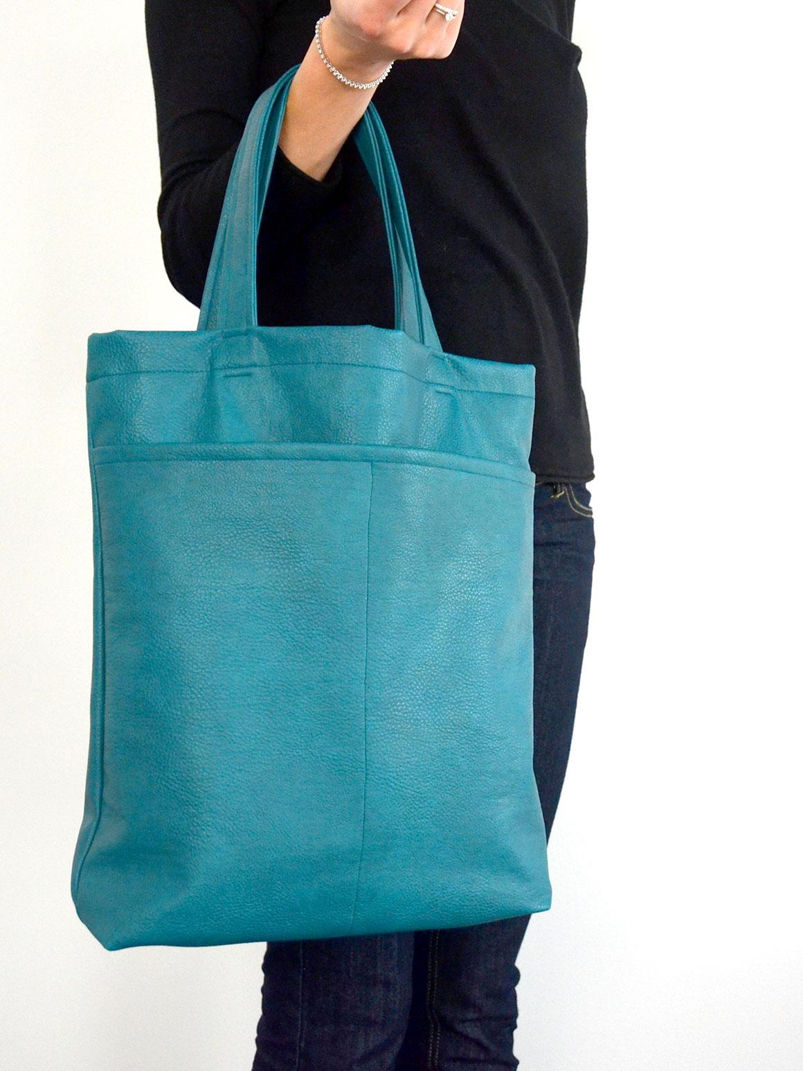 DIY: Shopper van nepleer