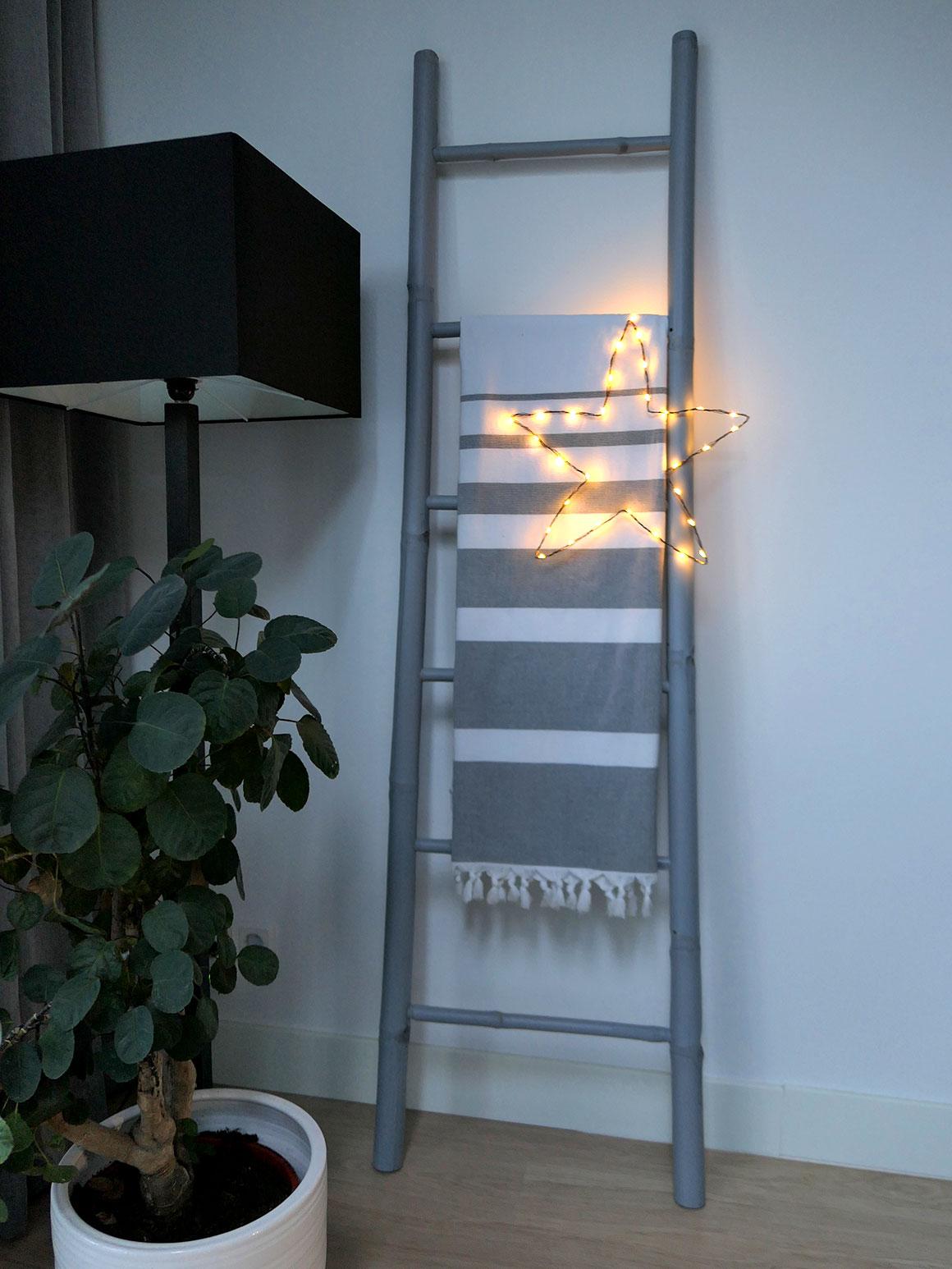 DIY: Snelle kerstster (met lichtjes)