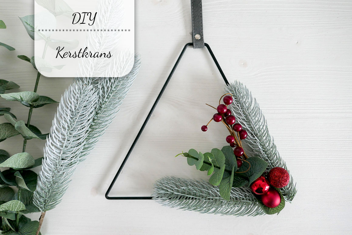 DIY: Subtiele kerstkrans