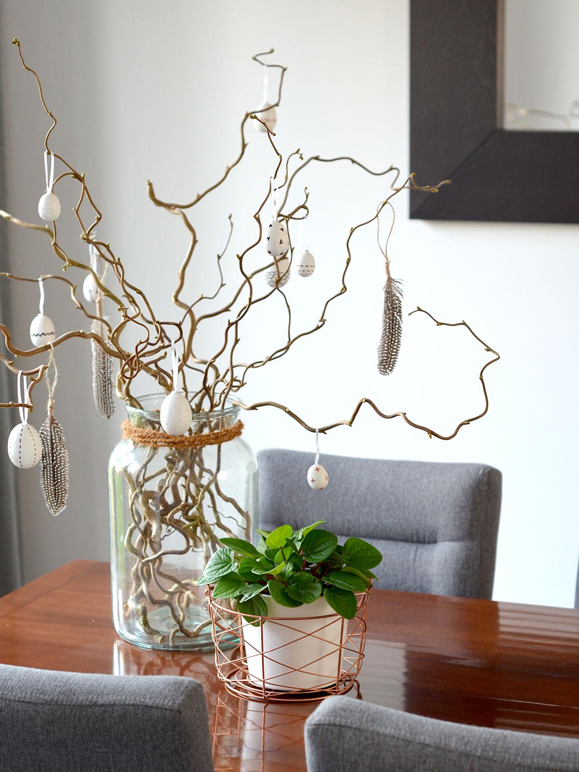 DIY: Subtiele paasdecoratie