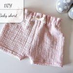 DIY: baby short met ruffle randje