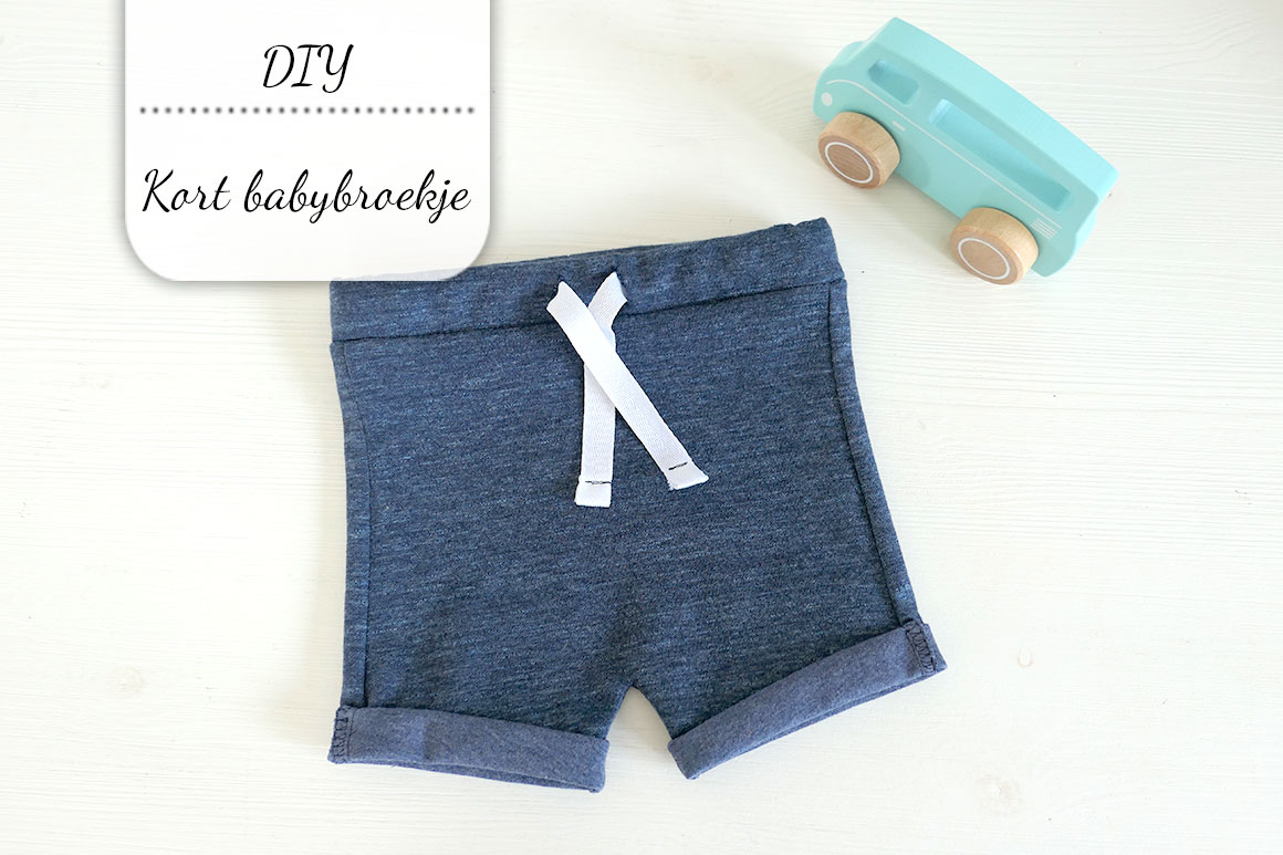 DIY: kort babybroekje