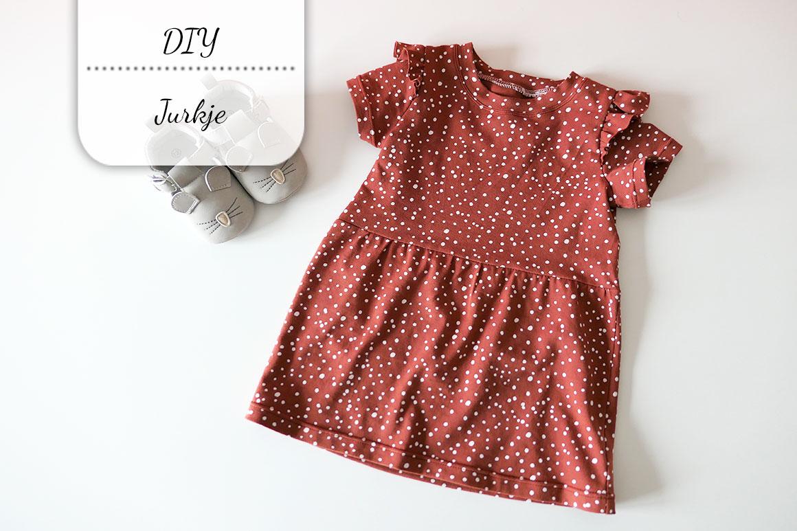 DIY: Meisjes jurkje met ruffles