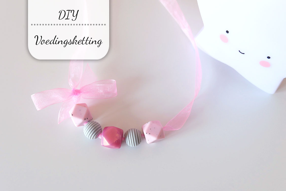 DIY: Voedingsketting (of bijtketting)