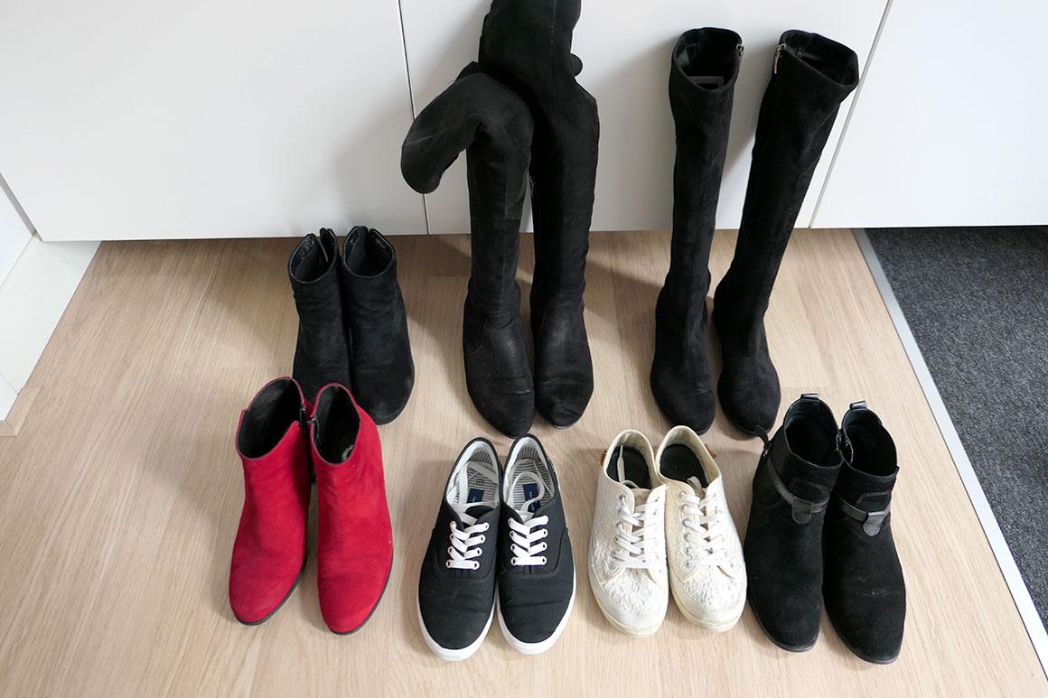 De winterkleding in mijn kast + wishlist