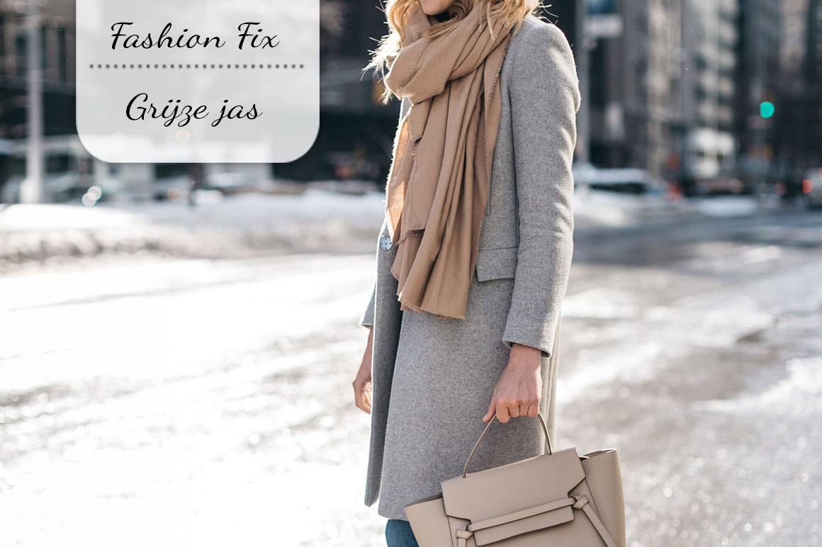 Fashion Fix: Grijze jas