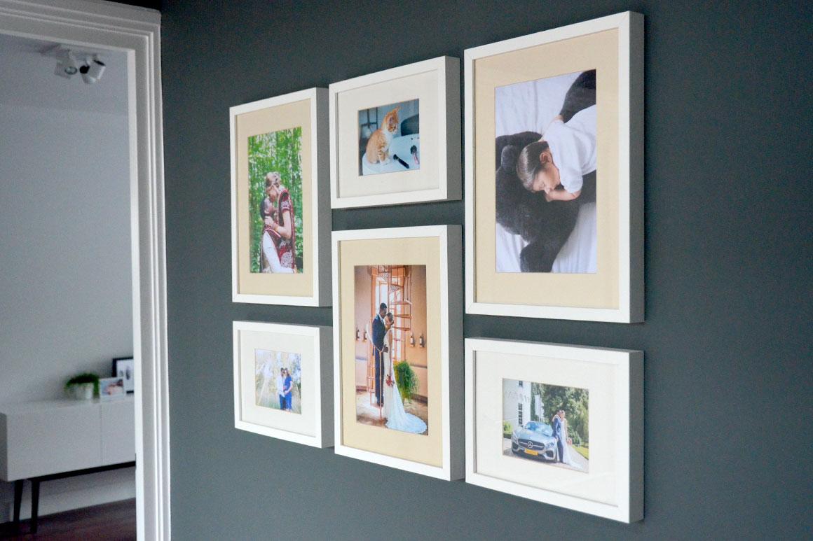 Foto's in huis