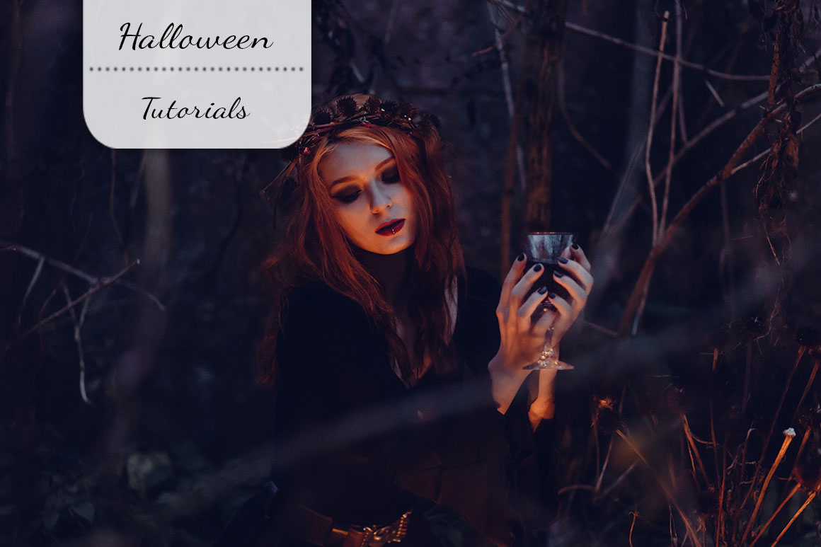 Halloween make-up tutorials