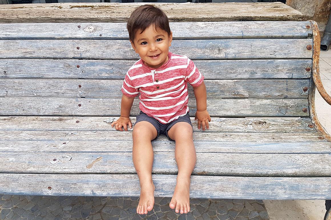 Liam is 2 jaar!