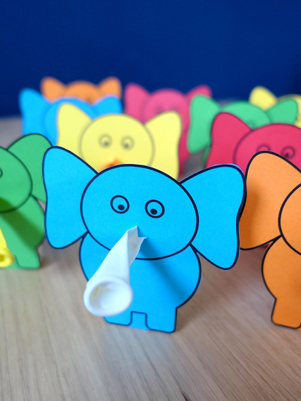 Liams tweede traktatie: olifantjes
