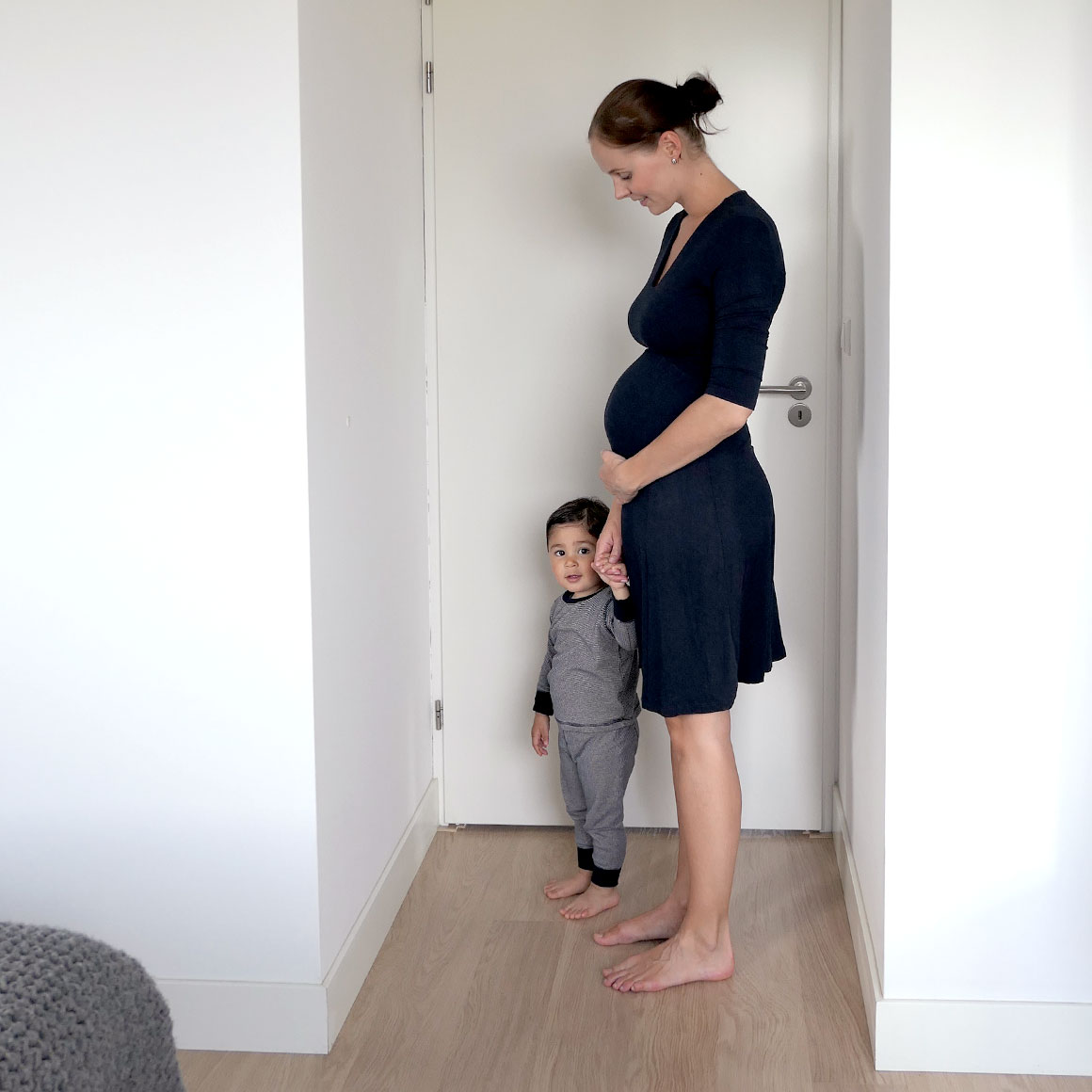 Mijn 2e zwangerschap in buikfoto's