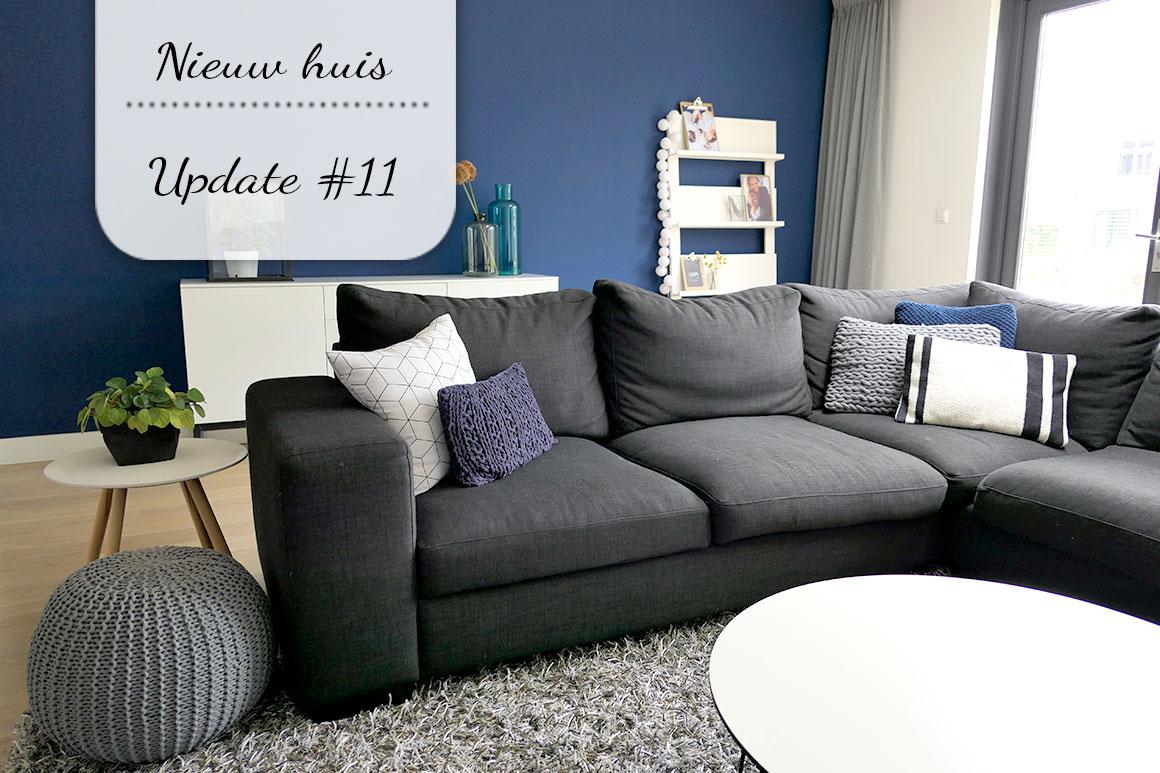 Ons nieuwe huis #11: Woonkamer progress