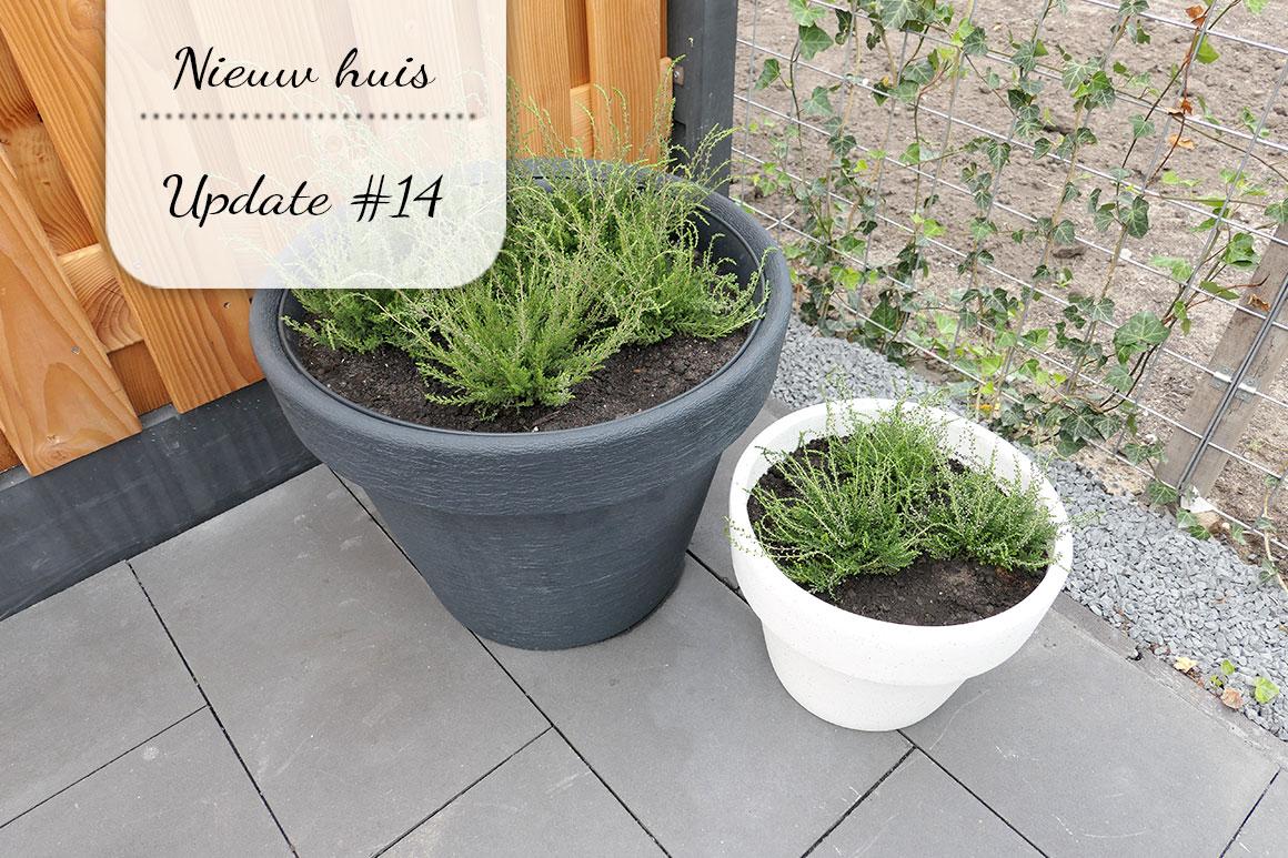 Ons nieuwe huis #14: Tuin progress