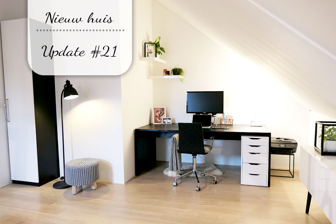 Ons nieuwe huis #21: Mijn nieuwe werkplek
