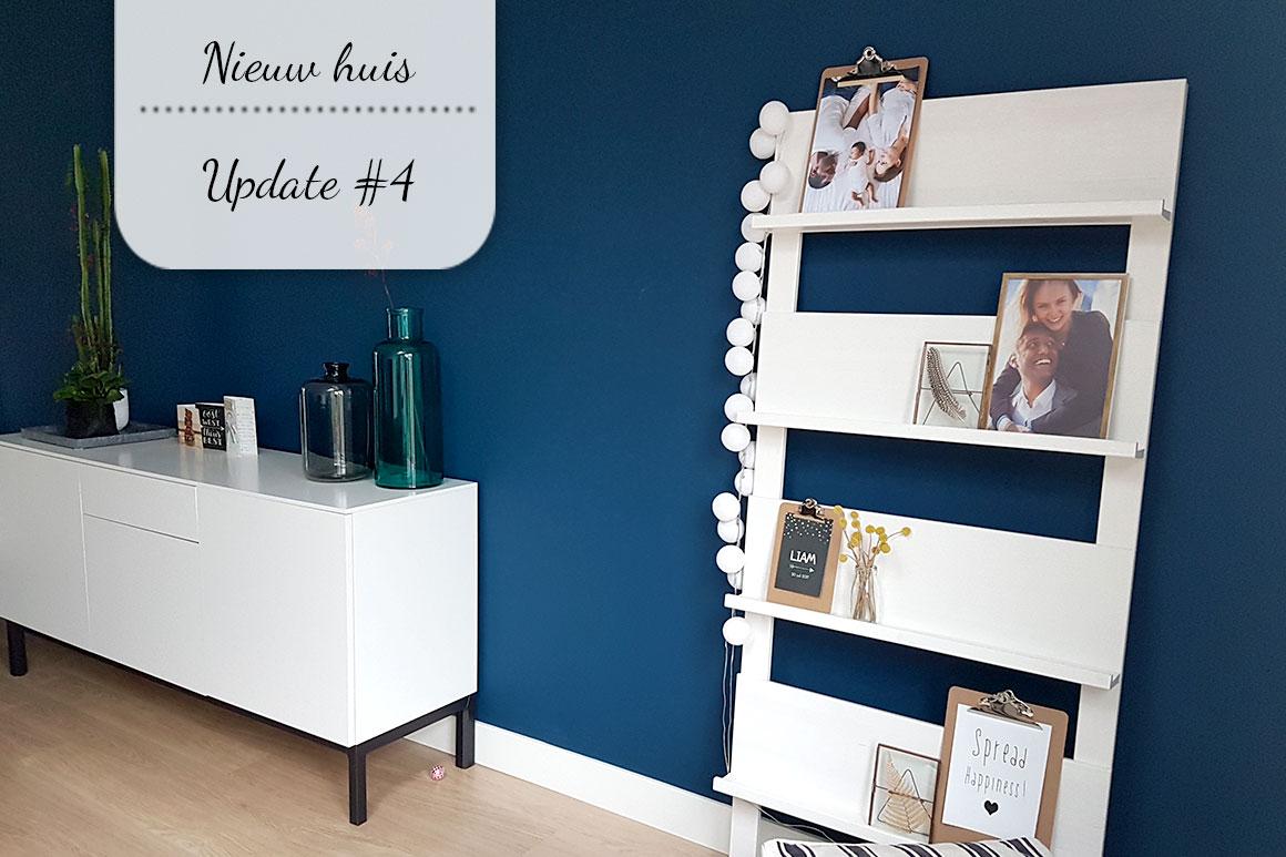 Ons nieuwe huis #4: We zijn verhuisd